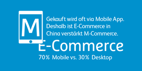 E-Commerce in China verstärkt M-Commerce