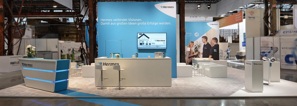 Hermes Messestand 2016